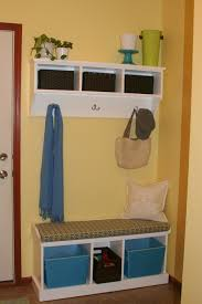 Corner Entry Bench Coat Rack White Corner Entry Bench With Triple Open Storage Under Wall Mounted 17