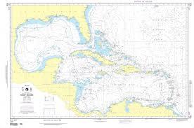 International Nautical Charts Nga Nautical Chart 400 West Indies