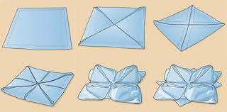 Paper Napkin Folding Flower Top 10 Napkin Folding Techniques Serious Eats