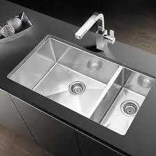 Blanco Sink Drain Stylish Precision 33 X 18 Gauge 1 2 Double Bowl