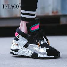 White Designer Shoes Women Platform Sneakers Women Leather Designer Shoes Women Luxury 2019 6cm Summer Spring