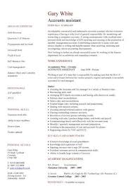 good cv template accounts assistant cv cv pinterest cv template template and