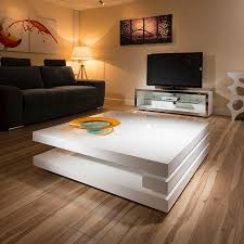 Image Of: Modern Large Square Coffee Table
