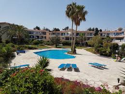 beautiful modern well equipped spacious ground floor apartment private garden paphos