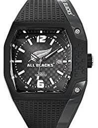 amazon co uk all blacks watches all blacks 680150 men s watch analogue quartz black plastic strap black dial