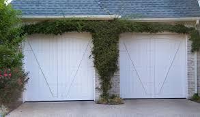 white wood garage door. White Wood Garage Doors Door T