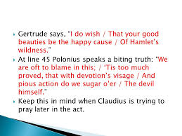 Hamlet Quotes Fascinating Hamlet Notes And Quotes Ppt Video Online Download