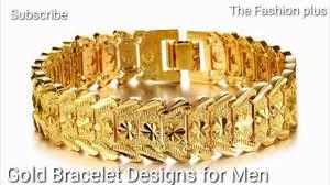Mens Gold Bangles Designs Gold Bracelet Designs For Men