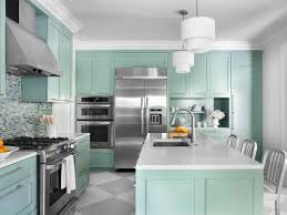 Bright Colored Kitchen Rugs Blue Kitchens With Brown Cabinets Cream Fabric Small Rugs Above