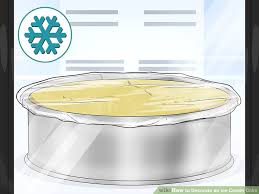 image titled decorate. Image Titled Decorate An Ice Cream Cake Step 1