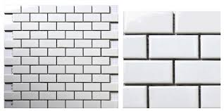 Small Picture Aliexpresscom Buy white brick ceramic mosaic tile kitchen