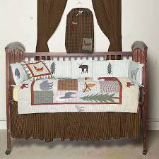 mountain whisper crib bedding sets