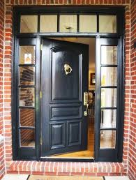 front door with one sidelightTraditional Front Door with Pathway  Transom window in Jefferson