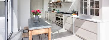 Kitchen Design Vintage Style Vintage Inspired Kitchen Design With Natural Grey Concreate