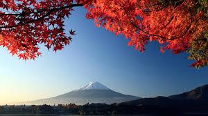 Download 1920x1080 Hd Wallpaper Fuji Landscape Japan Maple