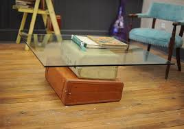 View in gallery Vintage suitcase coffee table
