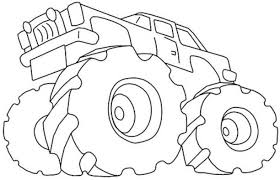 Monster Trucks Drawing At Getdrawingscom Free For Personal Use