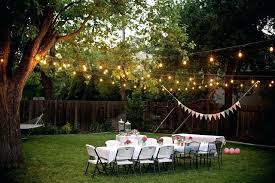 Backyard Party Decoration Ideas Birthday For Adults