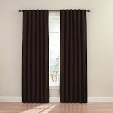 com eclipse 11353052x084es fresno 52 inch by 84 inch blackout single window curtain panel espresso home kitchen