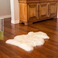 single pelt sheepskin rug xl natural ivory white color