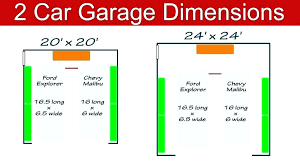 standard garage door sizes typical dimensions single car width south size double canada
