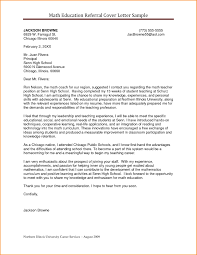 Sample Cover Letter For In A School Sample Cover Letter For High School Student Cover Letter