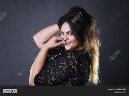 Hair Style For Plus Size young beautiful plus size model image & photo bigstock 4718 by stevesalt.us