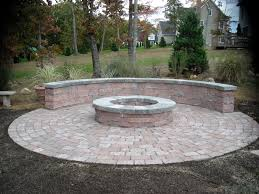 image of fire pit landscaping ideas decorate