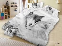 ms o custom made 3d animal print duvet cover set queen size dog tiger wolf peacock cat leopard bedding set bedroom bed linen duvet covers set white