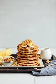 Minimalist Baker Banana Nut Pancakes