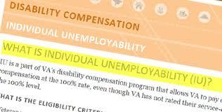 Iu Health Doctors Note Individual Unemployability Understanding The Basics