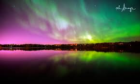 Northern Lights Forecast Traverse City Northern Lights Rock North America