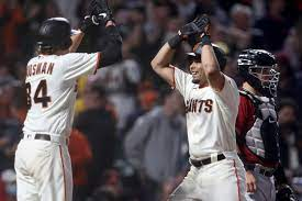SF Giants blast four more homers, move ...