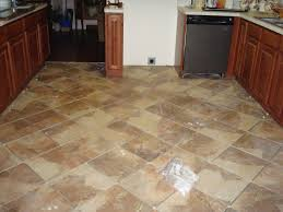 Laying Kitchen Floor Tiles Painting Ceramic Tile Floor Janefargo