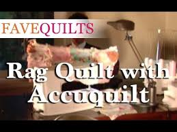 How To: Rag Quilt with Accuquilt - YouTube & How To: Rag Quilt with Accuquilt Adamdwight.com
