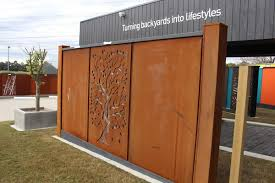Cor ten steel Rusted Corten Steel Post Facade Corten Steel Post Facade Chippys Outdoor Corten Steel Post Facade Chippys Outdoor