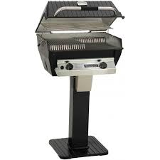 patio post gas grill