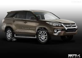 2016 Toyota Fortuner rendered accurately