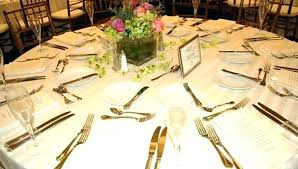 Reception Table Set Up Wedding Table Settings Elegant Wedding Table Setting Ideas