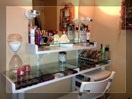 Makeup Table With Lighted Mirror Large Size Of Drawers Makeup Vanity ...