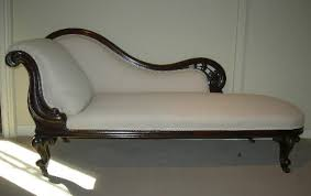 antique chaise lounge chairs. Antique Chaise Longue - Mid 19th Century Victorian Mahogany Left Hand Rest Lounge Chairs L