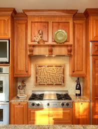 contemporary kitchen design with beautiful backsplash behind stove marvelous backsplash behind stove with wooden kitchen cabinet lighting backsplash home