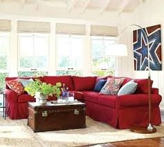 this is my exact red couch i could lighten my family room by rug with red