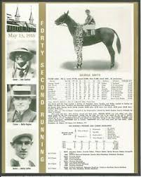 Kentucky Derby Race Chart Details About 1916 George Smith Kentucky Derby Wc Race Chart Jockey Trainer Owner