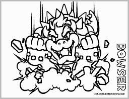Bowser Coloring Pages 3 Great Super Mario 3d Land Coloring Pages Az