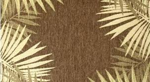 round tropical rugs