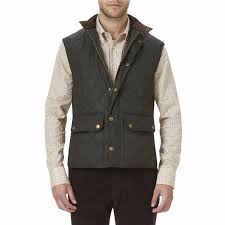 Barbour Lowerdale Quilted Gilet in Dark Green & Lowerdale Quilted Gilet in Dark Green by Barbour - 1 Adamdwight.com