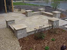 From Tiny Yard To Serene IslandStyle Patio  DIYBackyard Patio Stones