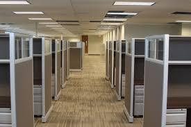 expensive office cubicle sets. Pictured: Walkway Through Herman Miller Refurbished Cubicles With Clear Lexan Toppers And Shown Custom Walnut Laminate 1 BBF Box File. Expensive Office Cubicle Sets