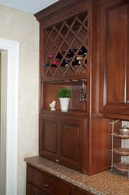 Built In Wine Racks Kitchen Wine Racks For Kitchen Cabinets